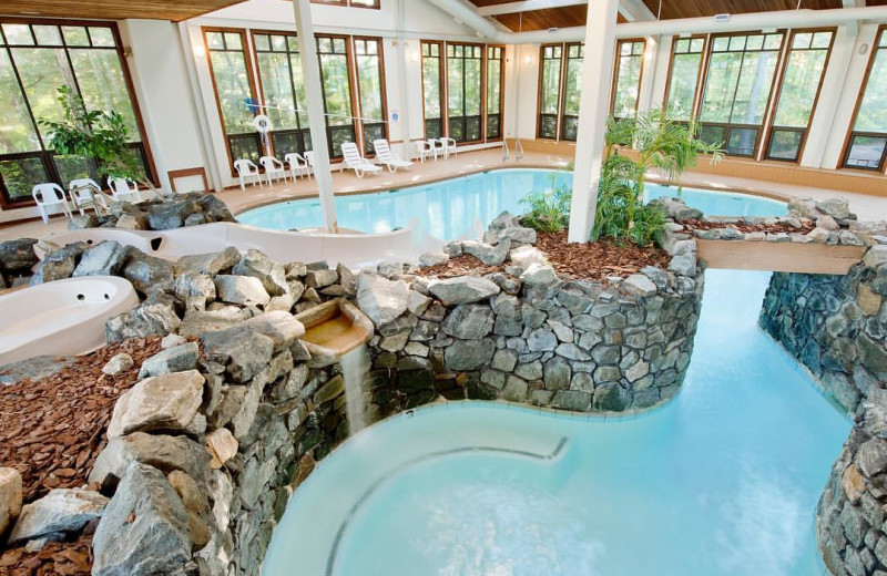Indoor pool at Summit Resort.
