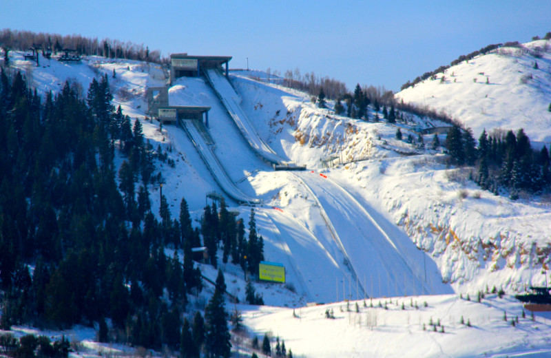 Ski jump at Westgate Park City Resort & Spa.