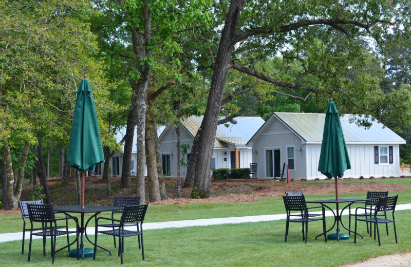 Cottages at Cape Fear Vineyard and Winery.
