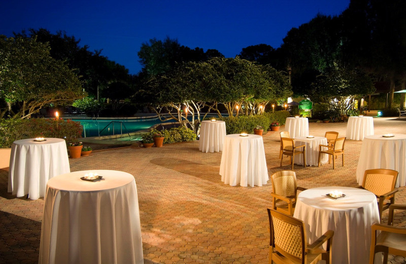 Reception at Villas of Grand Cypress.