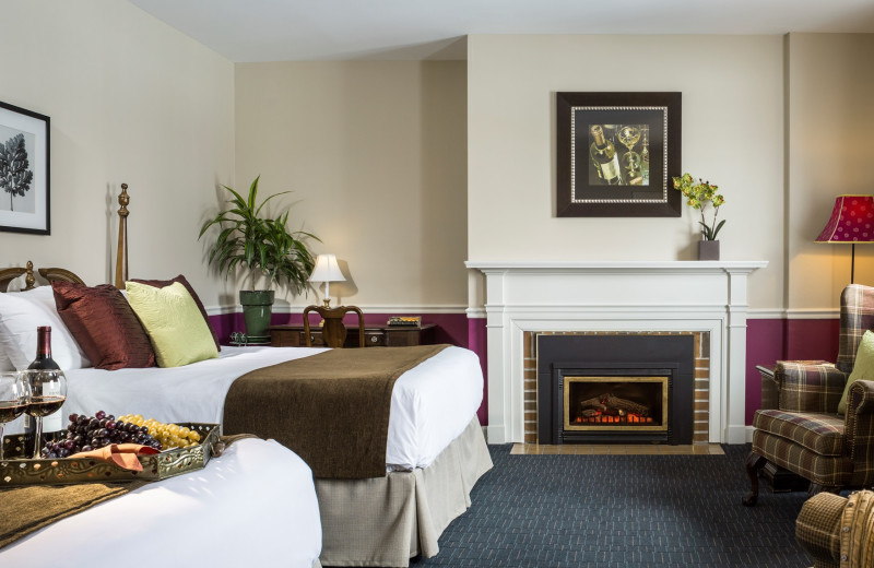Guest room at Essex Resort & Spa.