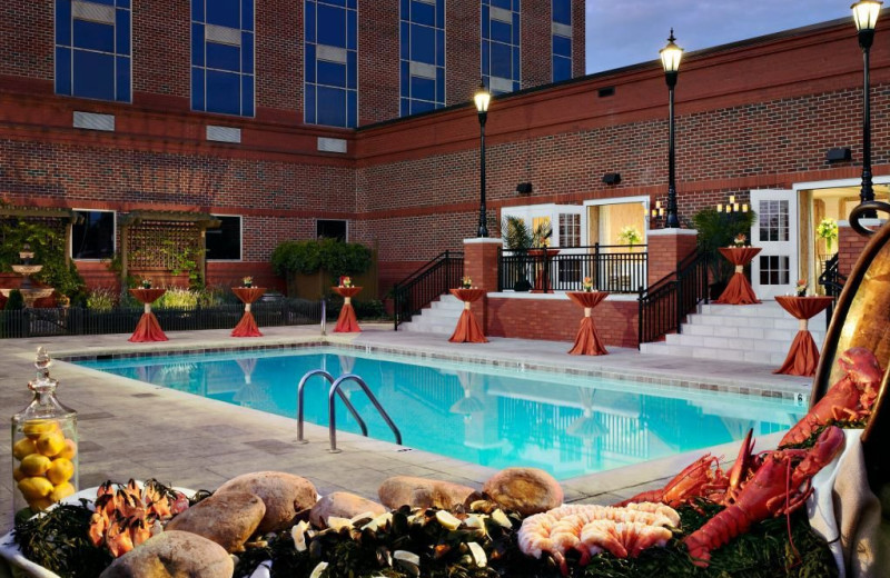 Terrace Room and Pool at The Hotel at Auburn University and Dixon Conference Center
