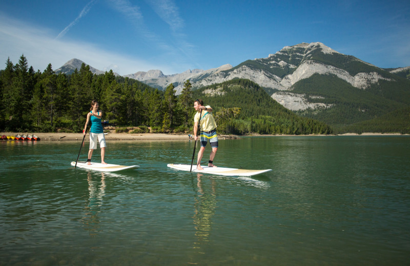Paddle boarding near Solara Resort & Spa.