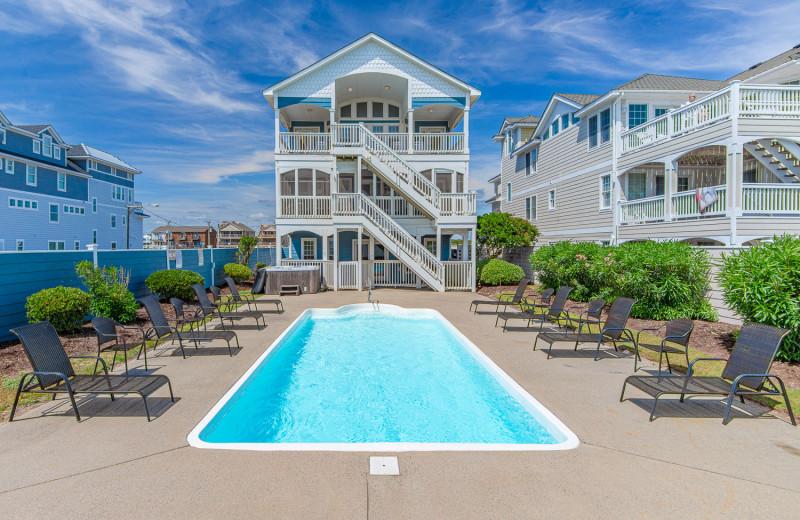 Rental pool at Joe Lamb Jr. & Associates Vacation Rentals.