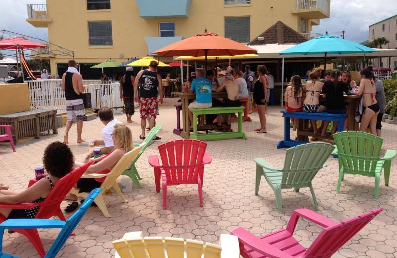 Patio at Fountain Beach Resort.