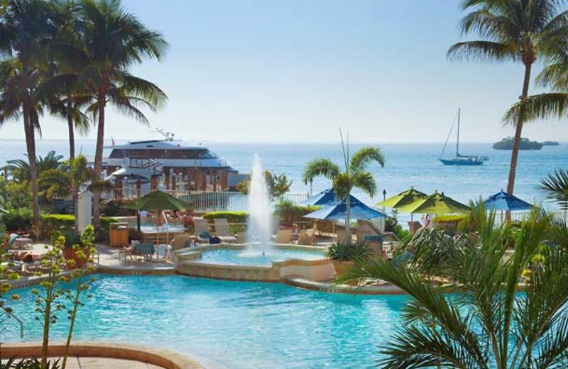 Outdoor pool at Sanibel Harbour Resort & Spa.