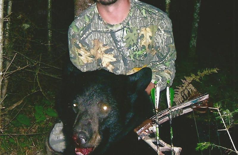 Bear hunting at Schatzi's 4 Seasons Resort.