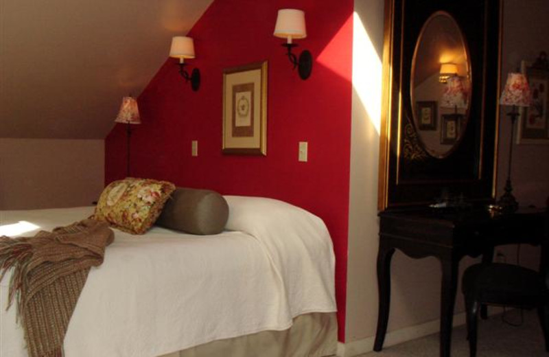 Guest room at Abbotts Glen.