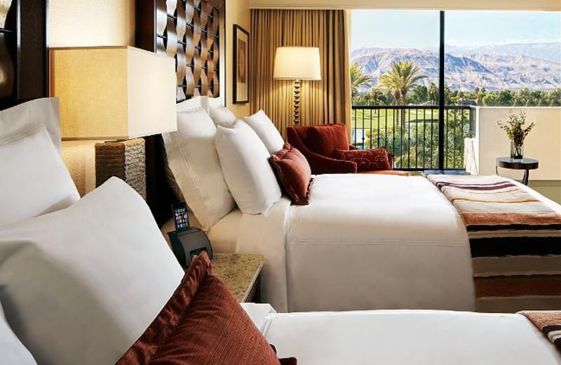 Guest Room at Marriott Desert Springs Resort
