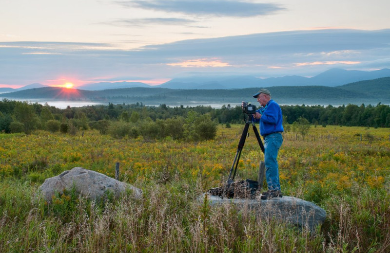 Photography workshops at Northwoods Inn.