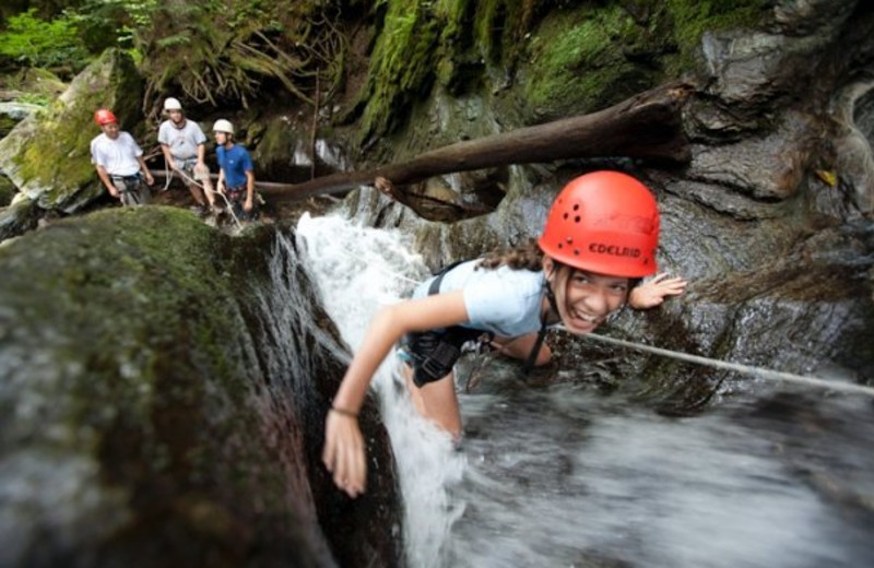 Water activities at Smugglers' Notch Resort.