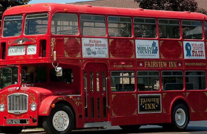 Bus tours at Fairview Inn.