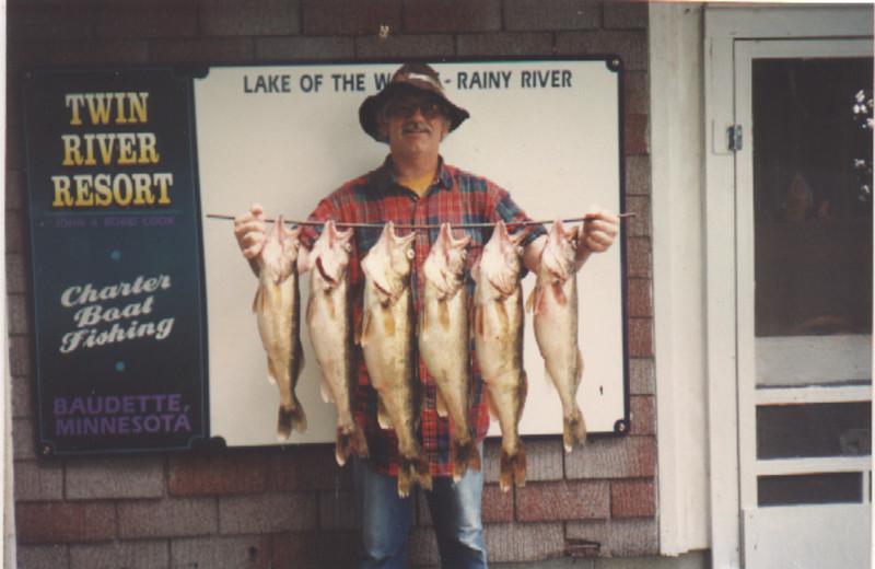 Fishing at Twin River Resort.