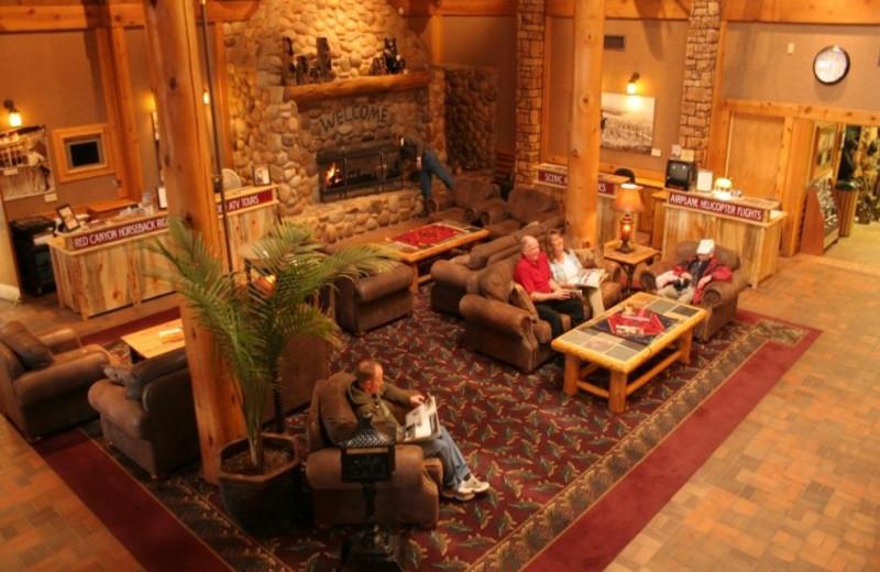 Lobby view at Ruby's Inn.