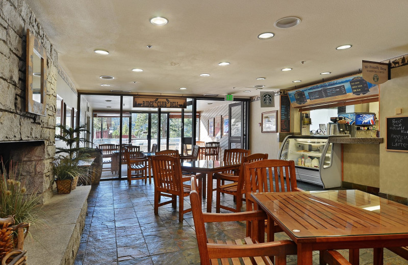 Cafe view at The Ridge Resorts.