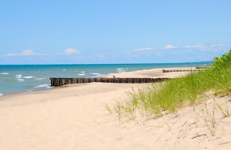 Beach near Motel 6 - Benton Harbor.