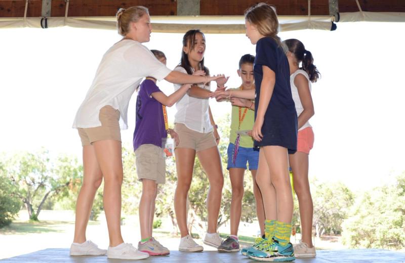 Drama at Camp Balcones Spring.