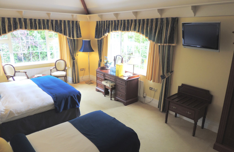 Guest room at Killeen House.