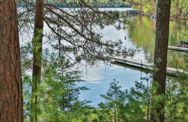 Lake view at Hampel Properties.
