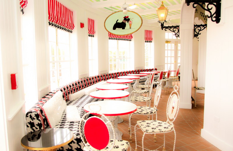 Sadie's Ice Cream Parlor at Grand Hotel.