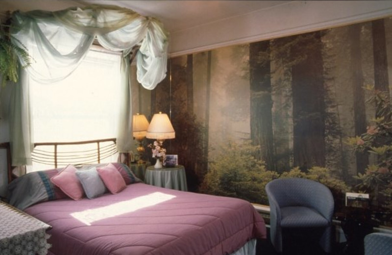 Guest room at Red Victorian Inn.