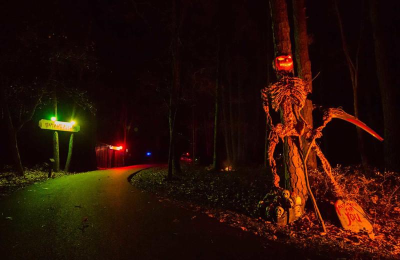 Halloween at Woodloch Resort.