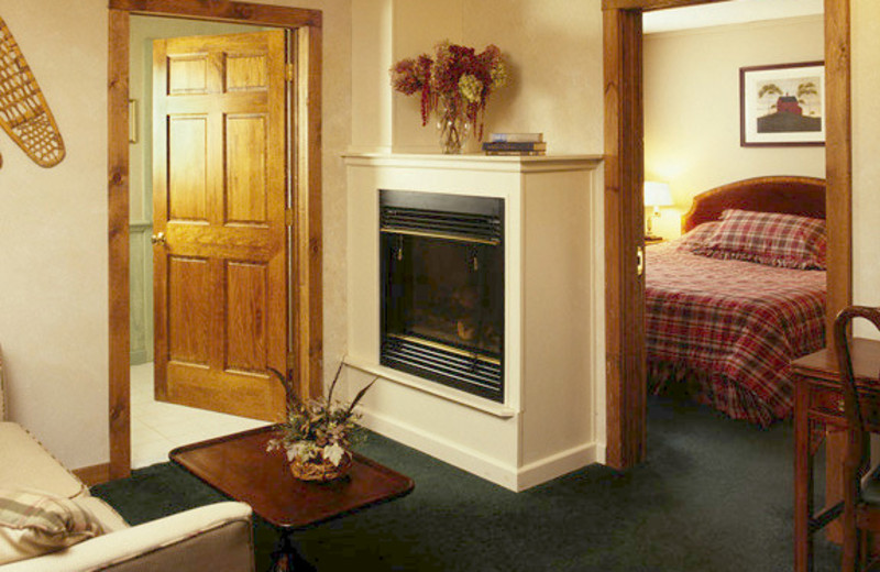 Guest suite at The Mountain Inn.