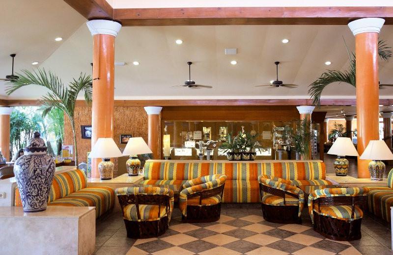 Hotel Restaurant at Barcelo Maya Beach Resort
