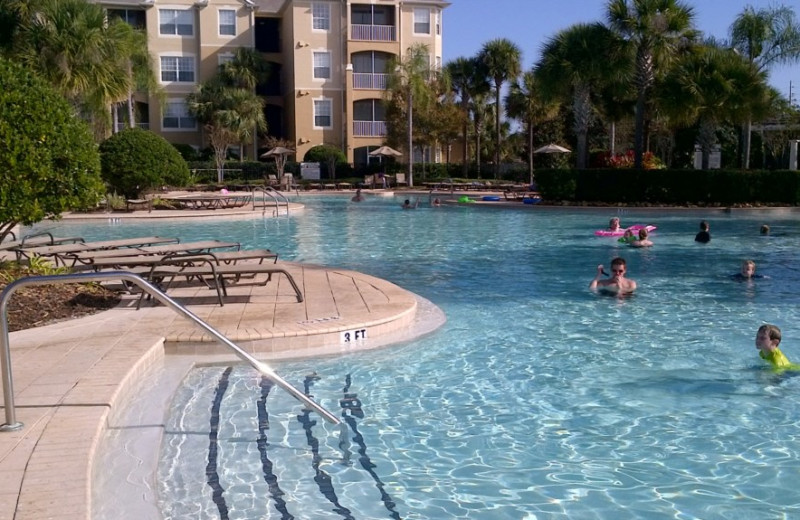 Resort pool at Florida Dream Management Company.