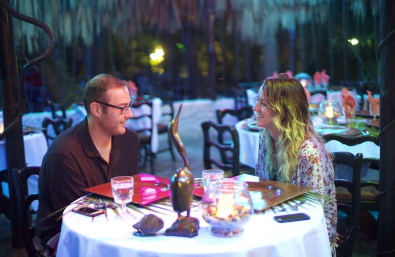 Dining at Maruba Resort Jungle Spa.