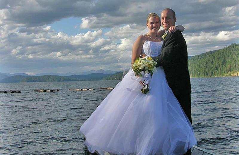 Wedding at Blue Diamond Marina & Resort.