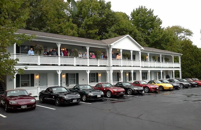 Exterior view of Cedar Crest Inn.