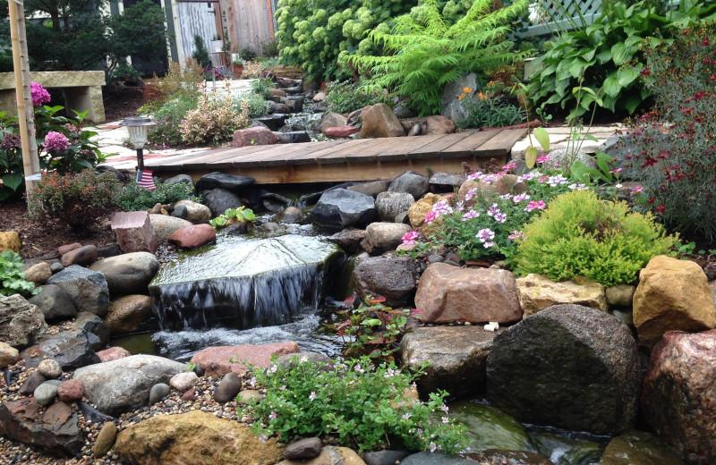 Garden at Octagon House.