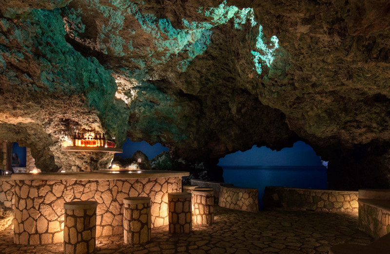 Dining at The Caves Resort.