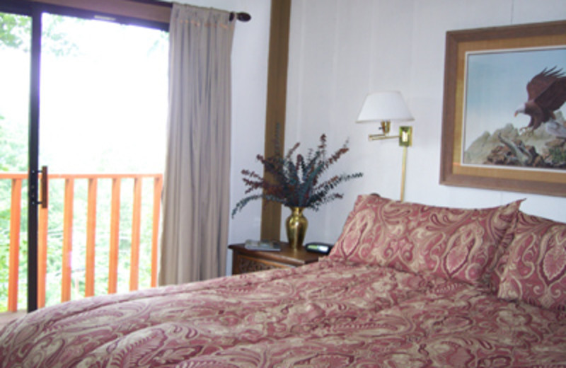 Guest Room at the Skyview Chalet
