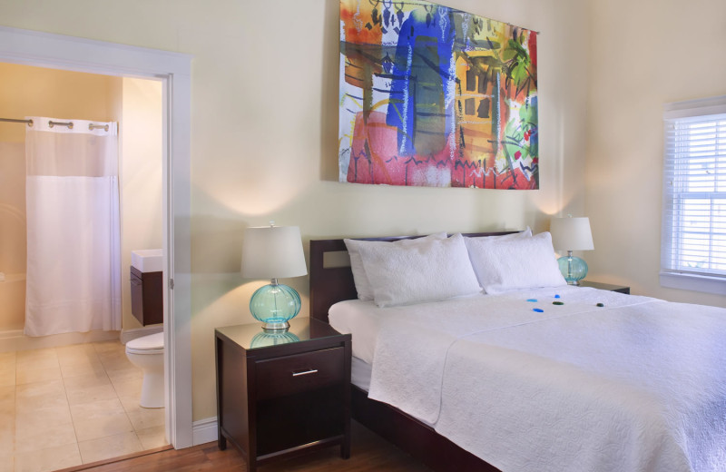 Guest room at Azul Key West.