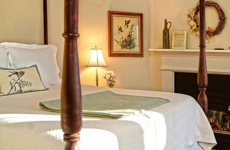 Guest Room at Foxfield Inn