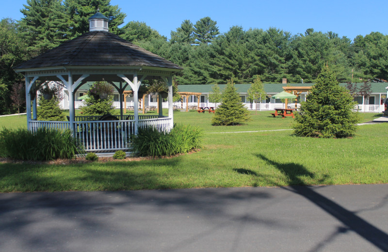 Gazebo at Catskill Mountains Resort.