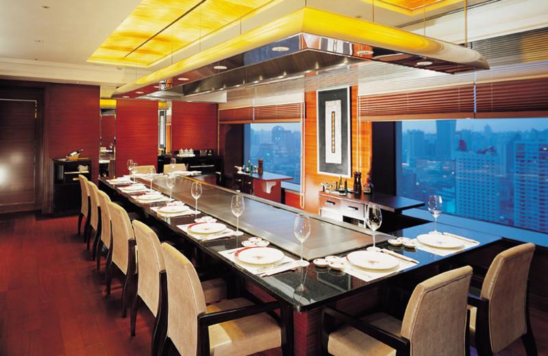 Dining at Okura Garden Hotel.