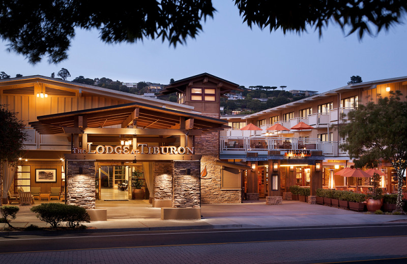 Exterior view of Tiburon Lodge and Conference Center.