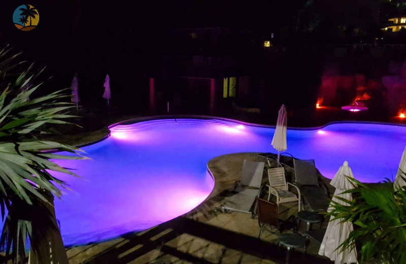 Pool at HORA Vacation Rentals.
