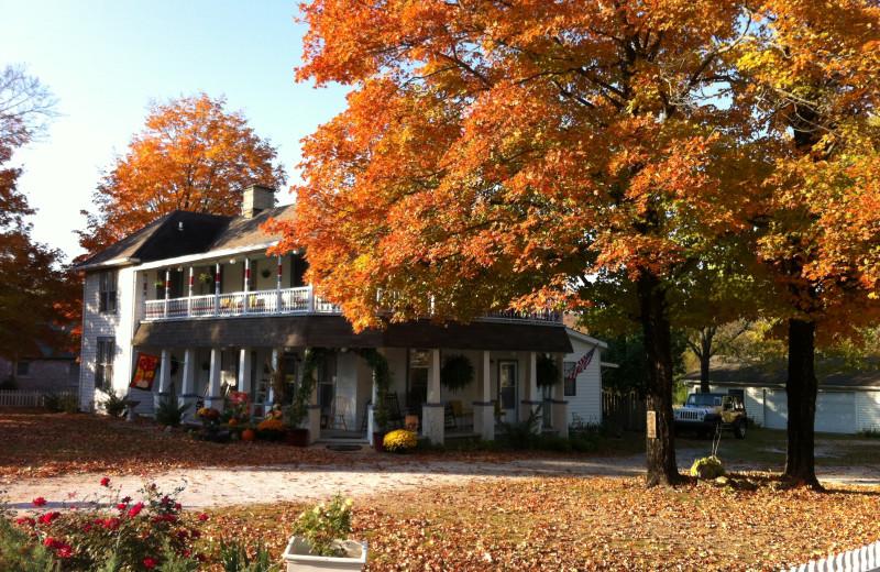 Fall at Ozark Country Inn.