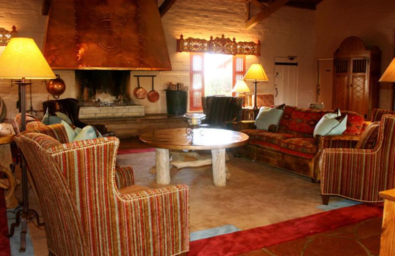Lobby view at Rancho De Los Caballeros.
