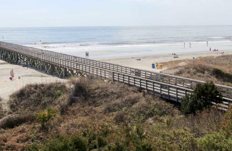 Beach at Sea Cabin 302 A.