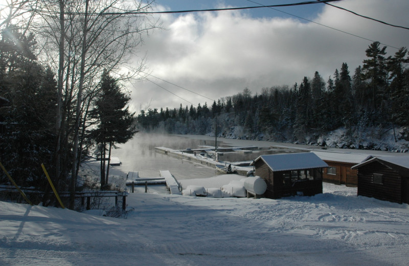Winter time at Smith Camps.