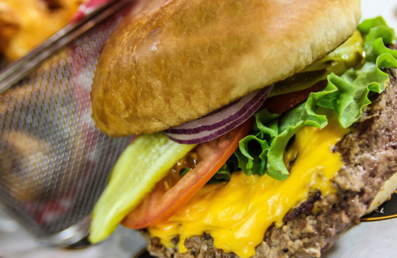 Burger at Westgate Branson Woods Resort.
