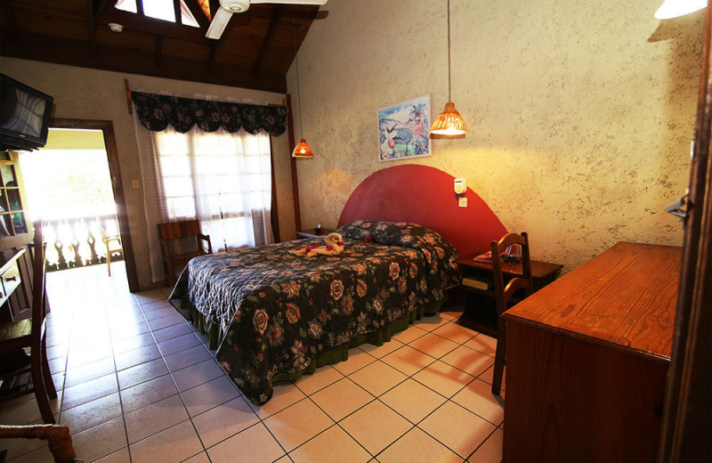Guest room at Xtabi Resort.