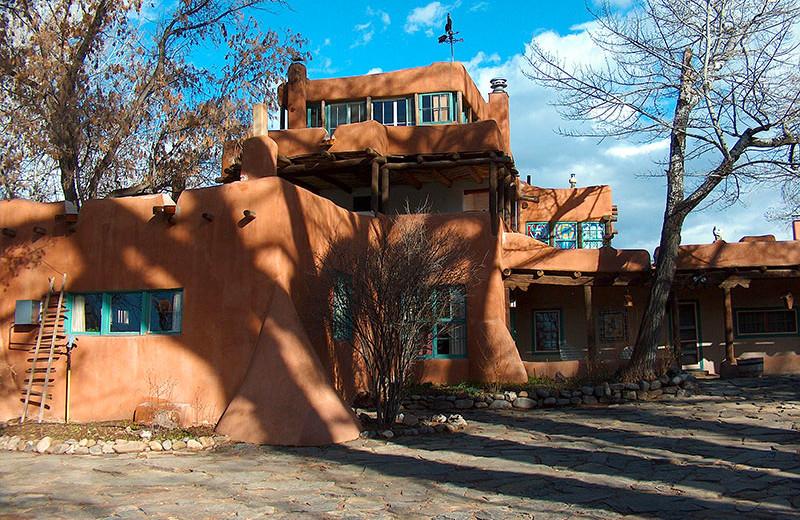 Dodge Luhan House Taos near Palacio de Marquesa.