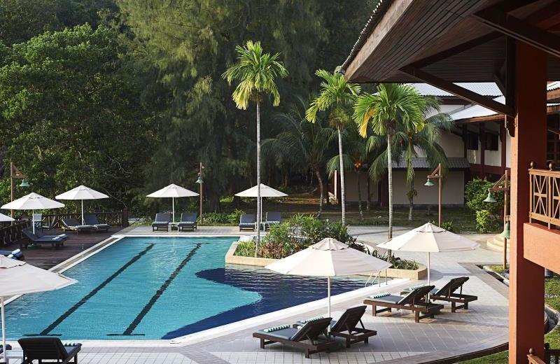 Outdoor pool at Berjaya Redang Golf & Spa Resort.