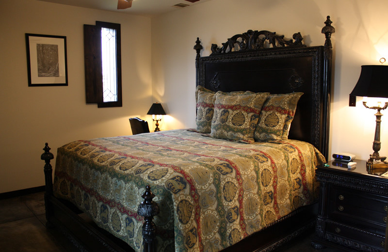 Guest room at Greystone Castle Sporting Club.